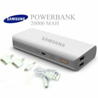 Powerbank samsung 10.000mAH dan 20.000mAH