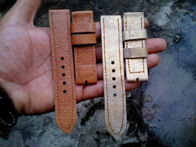 (PART 23) Leather Strap Vintage uk 18/20/22/24mm. ada 32 pieces...murahhh