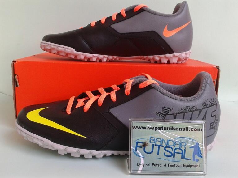 Sepatu futsal NIKE BOMBA II Black Volt Original