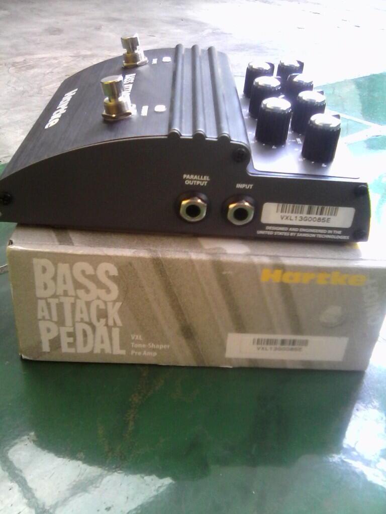 efeck Bass HARTKE Atack vxl