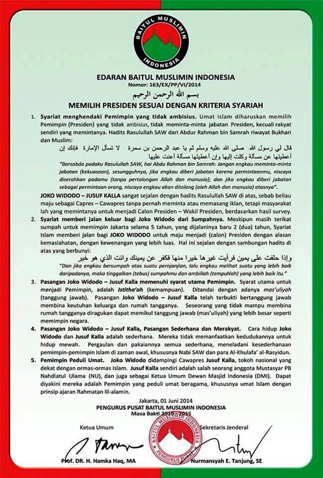Peringatan Terakhir Bagi Yang Muslim voters! ~ Ini Faktual bukan Fitnah!