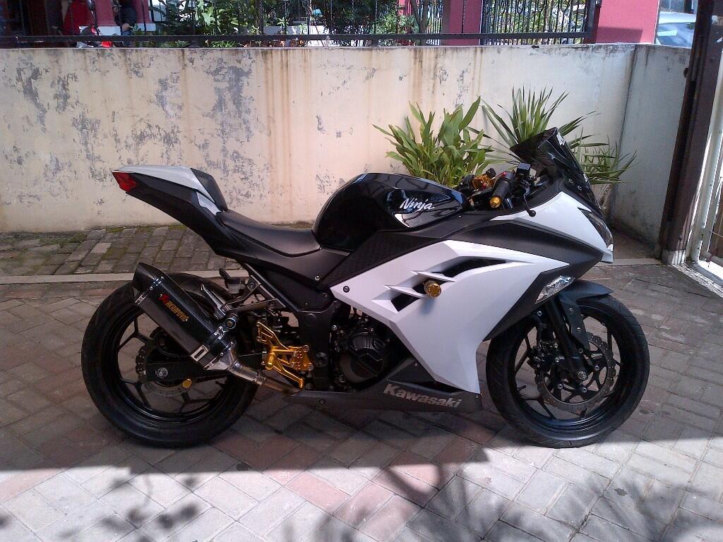 Ninja 250 FI 2012 White Mulus - Bening
