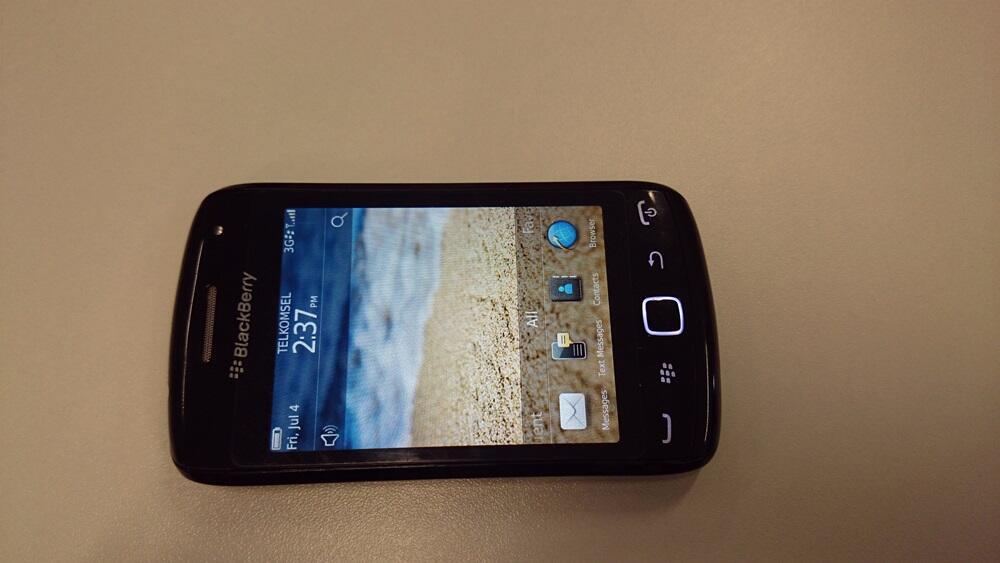 Jual Blackberry Orlando 9380 Black, Fullset