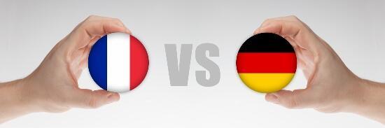 Tebak Skor Pertandingan Perancis VS Jerman dan Dapatkan Badge Sundul Bola!