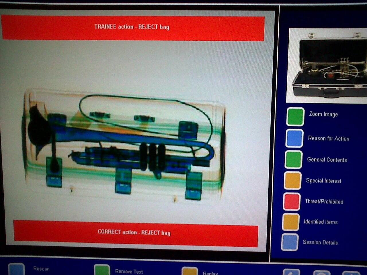 Cara kerja mesin X-Ray di bandara dan tampilan nya | KASKUS