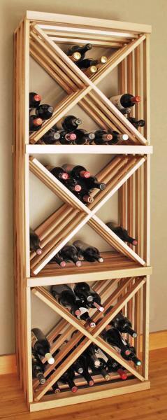 Jasa pembuatan rack wine (tempat menaruh wine) dengan berkualitas tinggi!