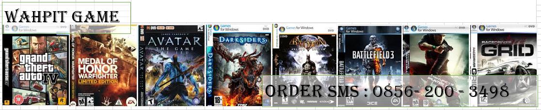 jual game PC langsung ke hardisk, usb. rp. 2000 per dvd cikarang