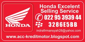 MOTOR HONDA DP 1Juta - Tanpa Survey - DIJAMIN ACC ( Bandung - Cimahi)