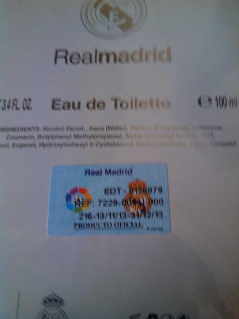 Parfum Original Airvall International Real Madrid for Men