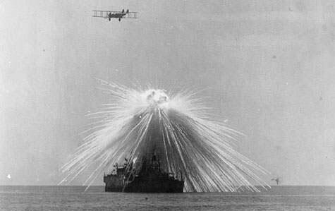 Dampak dan akibat Bom fosfor terlarang [+Pict]