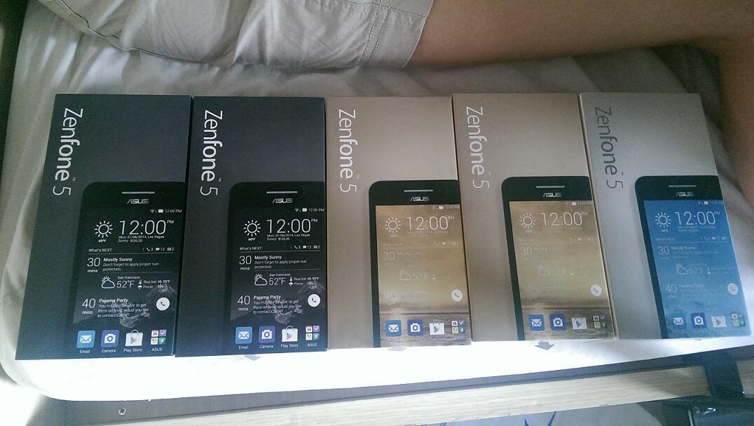 ASUS Zenfone 5 RAM 1G BNIB READY!!!