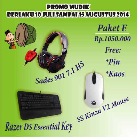 [TroN] Promo Paketan Mudik Gaming Gear Mouse,Mousepad,Headset,Keyboard SERBU BOSS!!!