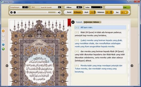 Software Al-Quran Digital Terlengkap dari King Saud University