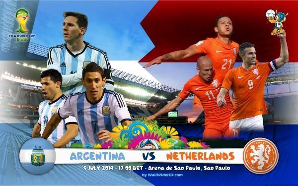 Tebak Skor Pertandingan Belanda VS Argentina