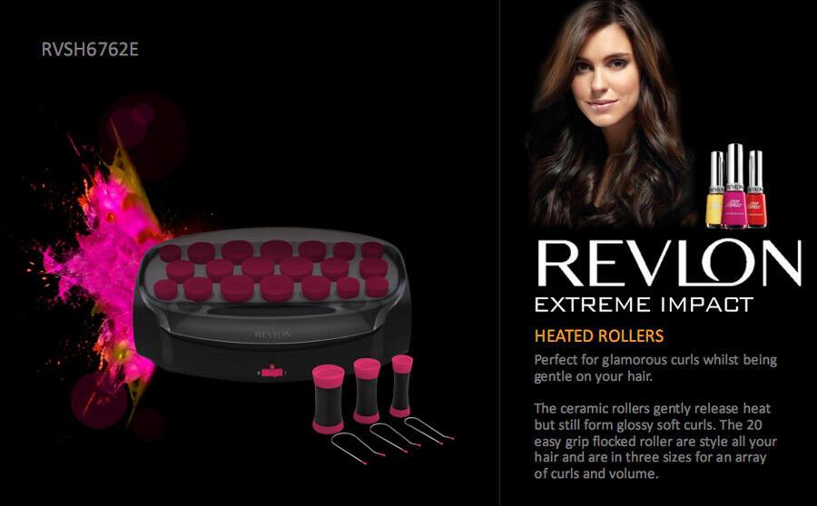 [PROMO] Hot Roller REVLON RVHS6762E - Rp 420.000 NETT !!! - pics inside