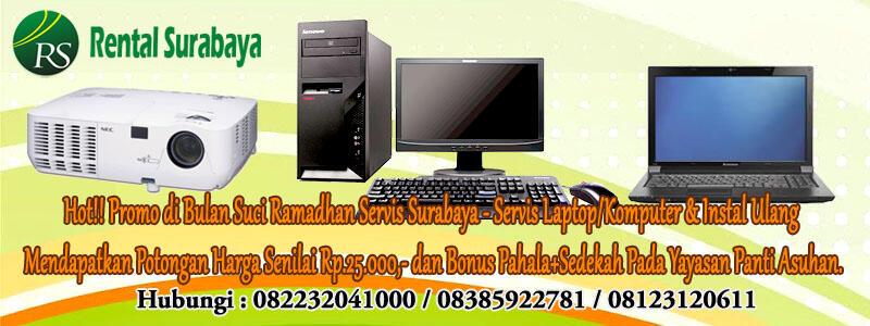 Sewa & Rental Laptop,Komputer,Proyektor,TV Plasma di SBY siap Event Luar Kota!!