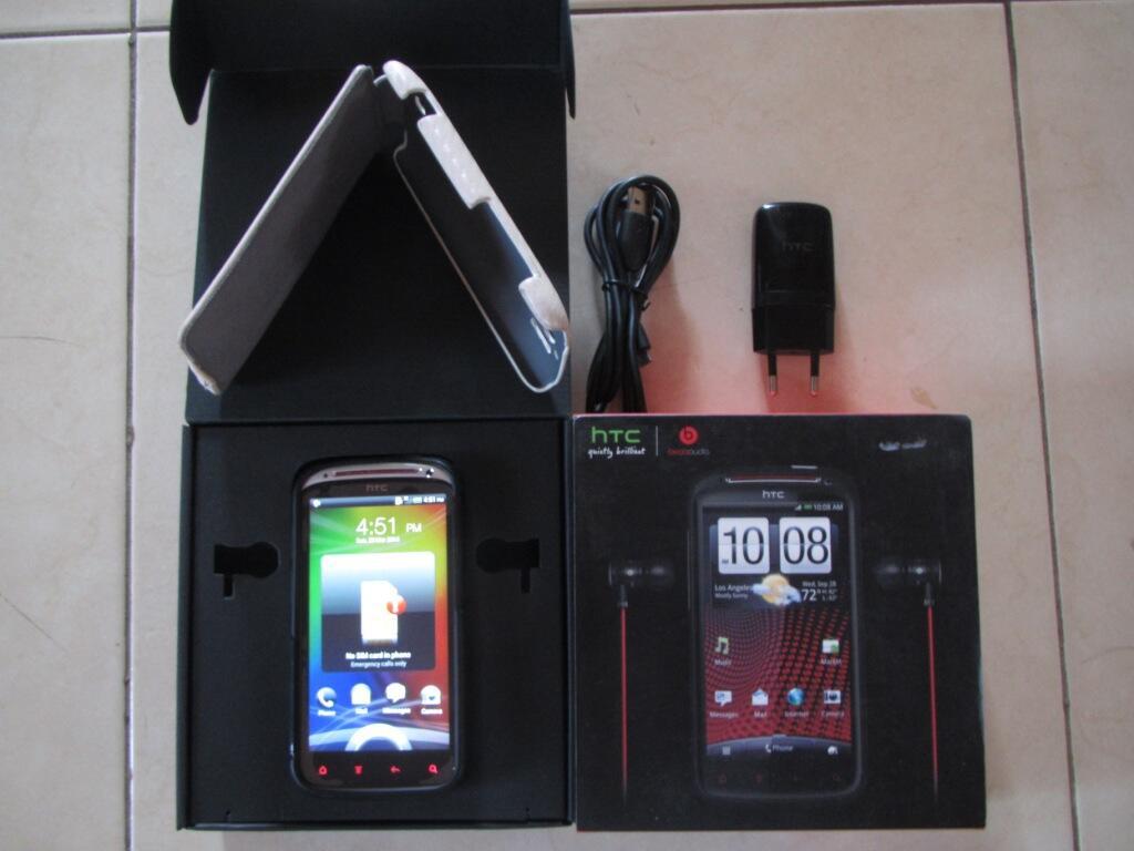 Jual HTC Sensation XE Black Mulus + 2 pcs White Case + Bonus Lainnya
