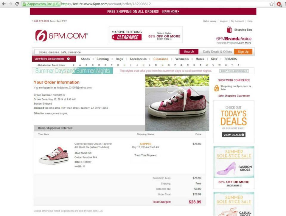 Pre Order situs amazon,ebay,6pm,zappos,dr jays,apapun bisa sistem TERIMA BERES !