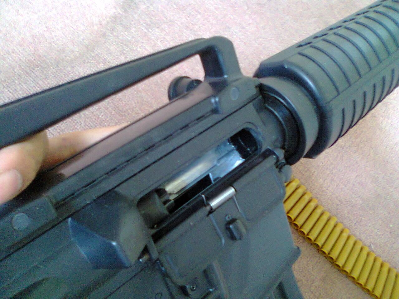 [WTS] M4 Bison Shell Ejecting Spring dan Holo Sight EOTech mulus!! masuk dulu gan..