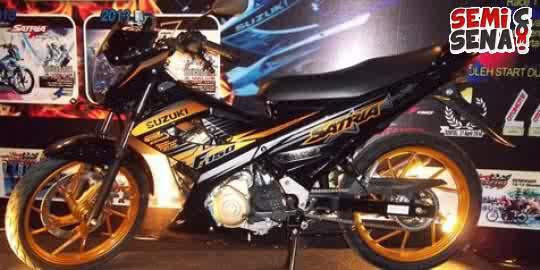 DEALER MOTOR SUZUKI JUAL MOTOR SUZUKI SATRIA FU FIGHTER ONE / STREET FIGHTER