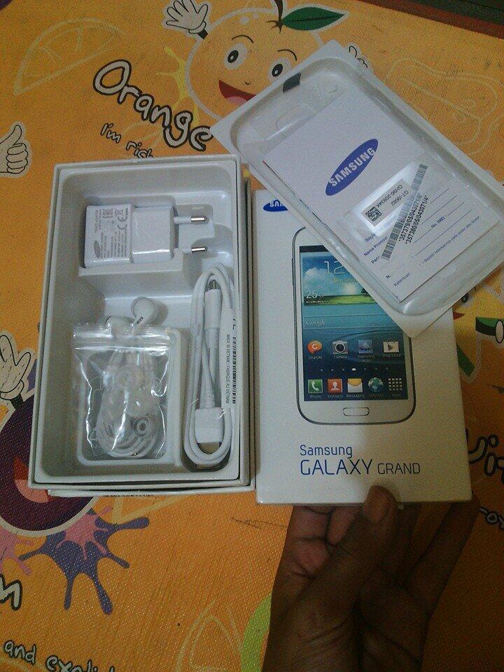 Samsung Galaxy Grand Duos White Mulus 98% Garansi panjang [[Bnatul yogya]]