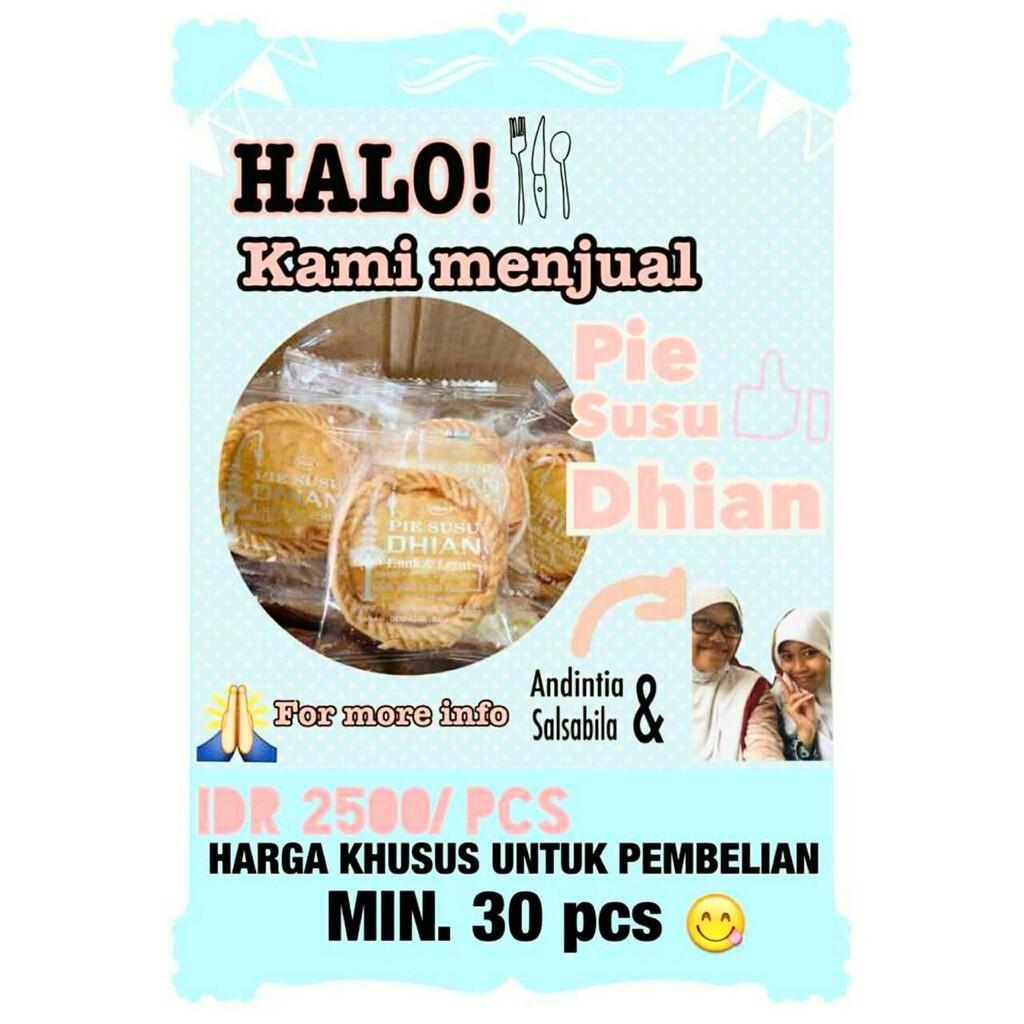 Terjual Jual Pie Susu Dhian Oleh Khas Bali Murah Dan Dijamin