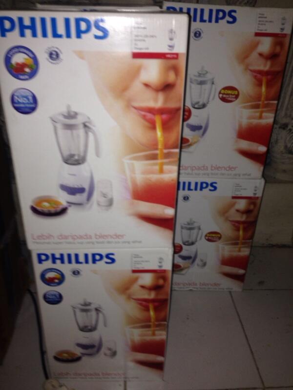 Wts Blender Philips Hr 2115 Hr 2116