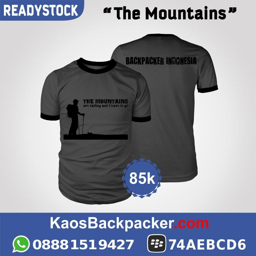 Kaos Backpacker / Travelling | Fresh & New Design