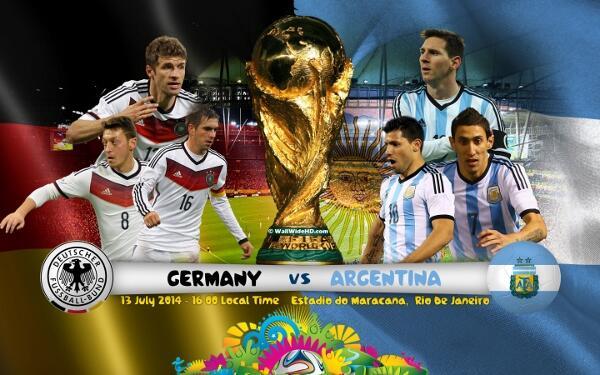Tebak Skor Pertandingan Jerman VS Argentina