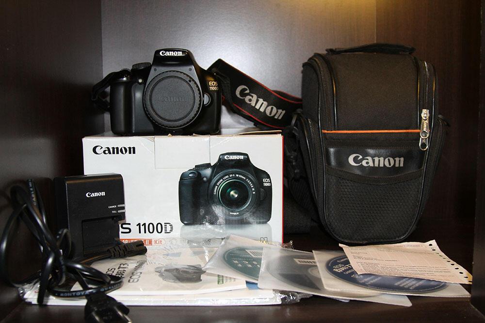 WTS Canon 1100D BO Fullset Mulus ex DS (solo)