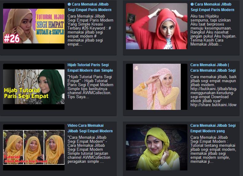 Cara Memakai Jilbab Segi Empat Modern Yang Simple Dan Kreatif Kaskus