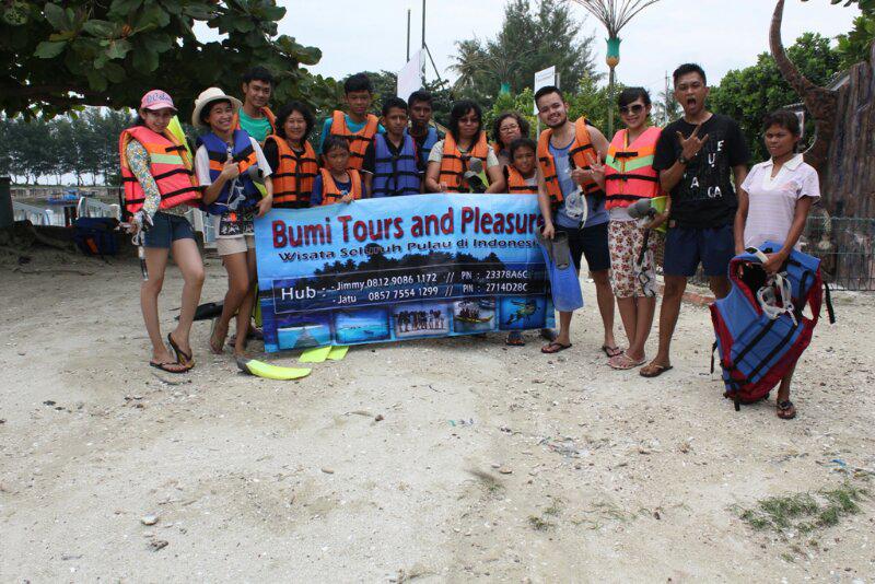 paket wisata pulau pari, pulau harapan pulau tidung dan seluruh kepulauan seribu