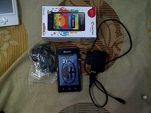 Smartfren Andromax C2 - JUAL RUGI (Pemakain 1 bulan) + 2GB BONUS