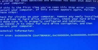 Solusi Cara Mengatasi Komputer Blue Screen Bagaimana Mohon