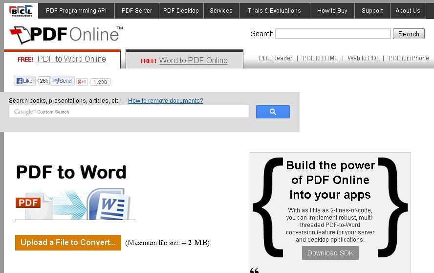 cara mengubah file pdf ke microsoft word secara online