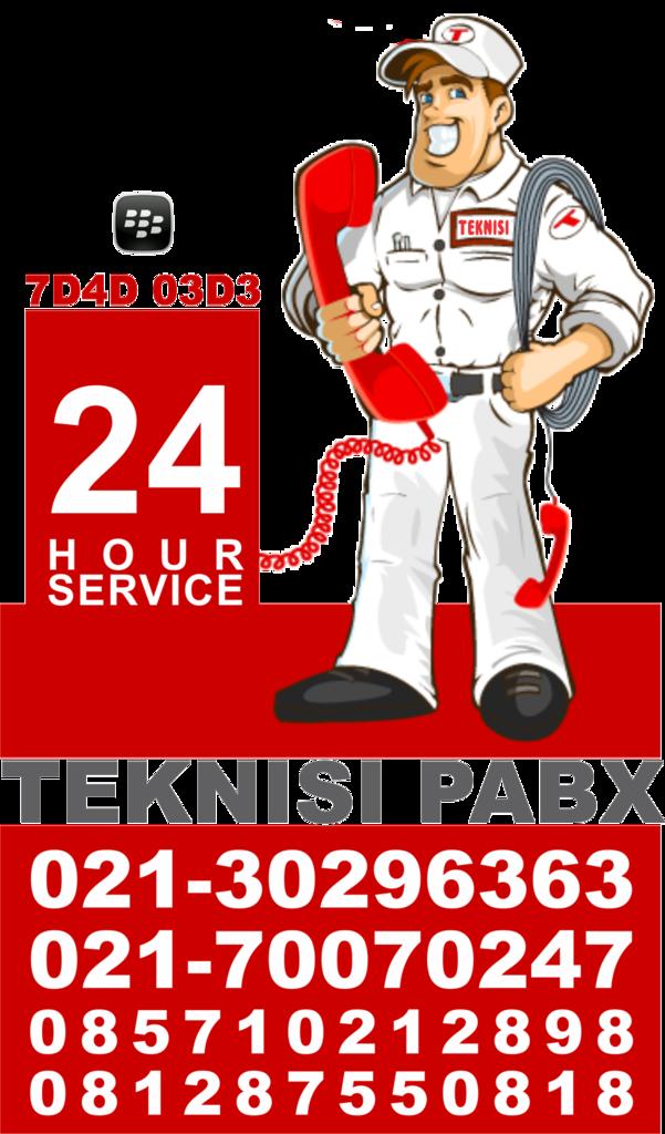Teknisi PABX 24 Jam 021-30296363 Lebaran Tetap Buka