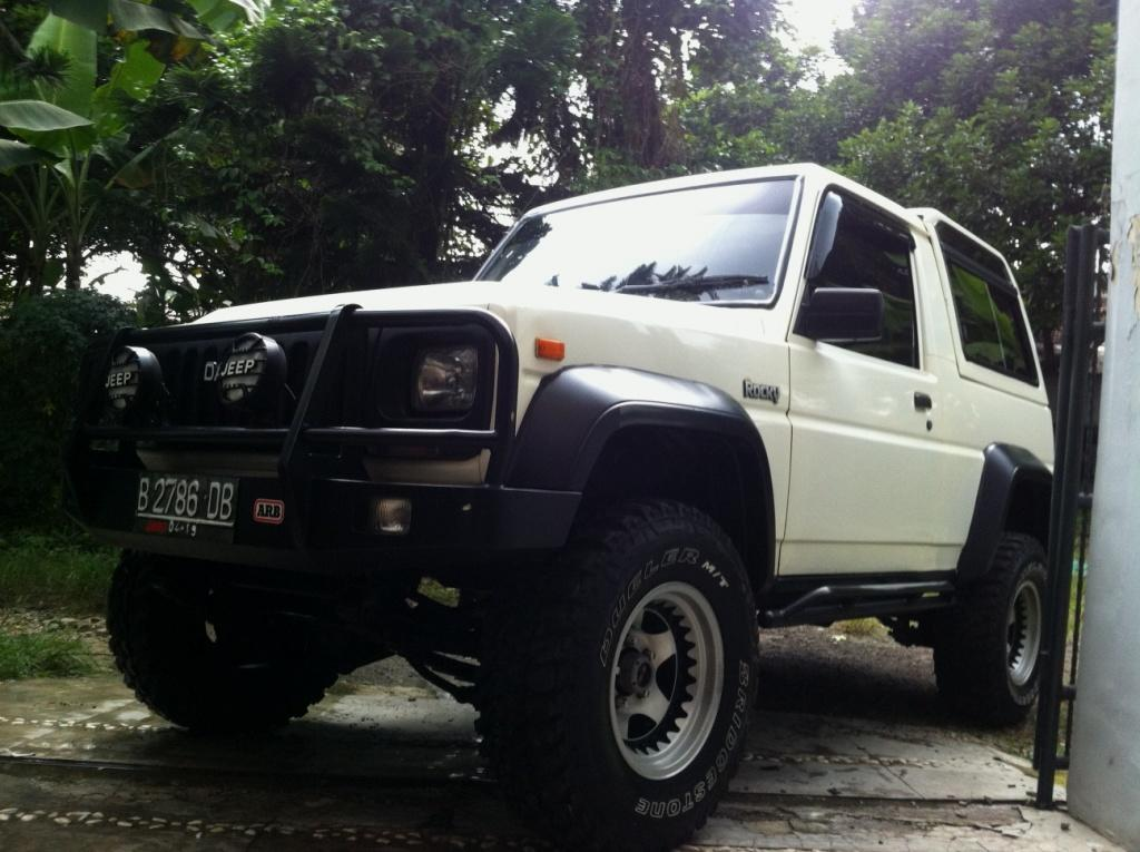 Daihatsu Rocky 4x4 1993 Full Orisinil Prima Standar Pabrik.