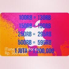 Jual Itunes Gift Card Indonesia Dan Iunes Gift Card US