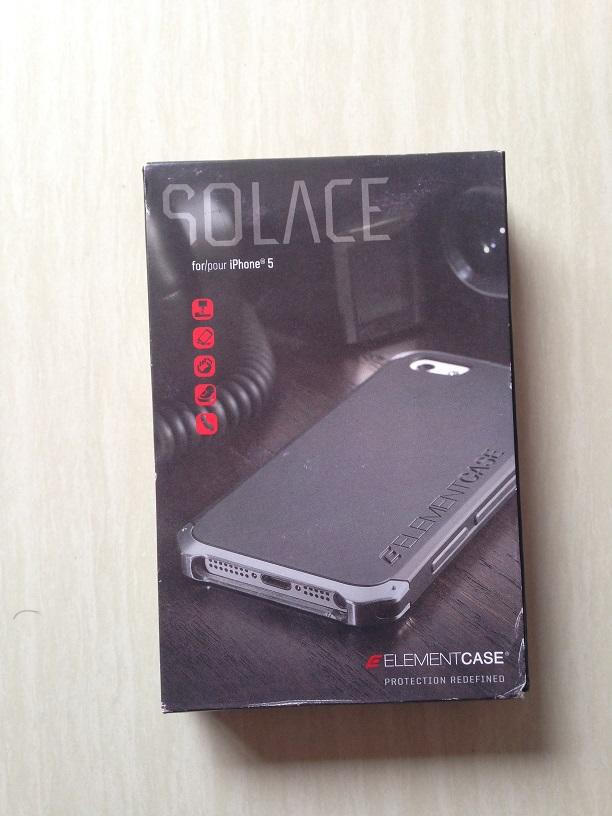 BNOB - Element Case Solace Red (OEM) untuk Iphone 5/5s - gak jadi pake - Cod Bandung
