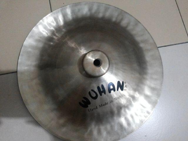"Cymbal Wuhan Mini China 12 "" & Dream Bliss Crash Ride 18 "" very rare item"