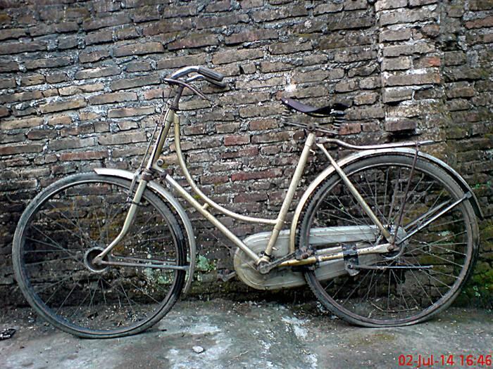 sepeda onthel golden hero lawas murah saja