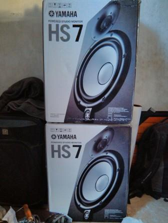 Studio Monitor Speaker / Active Speaker Yamaha HS7