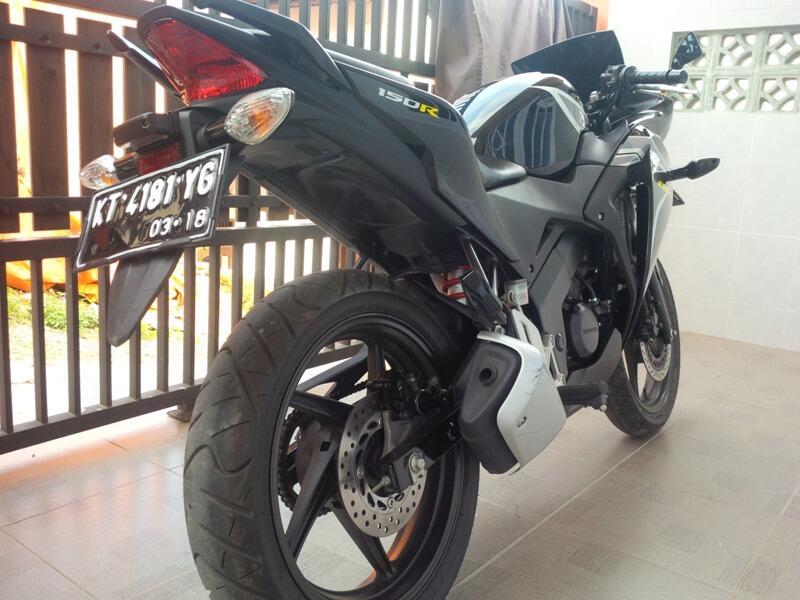 All New CBR 150R 2013 Black