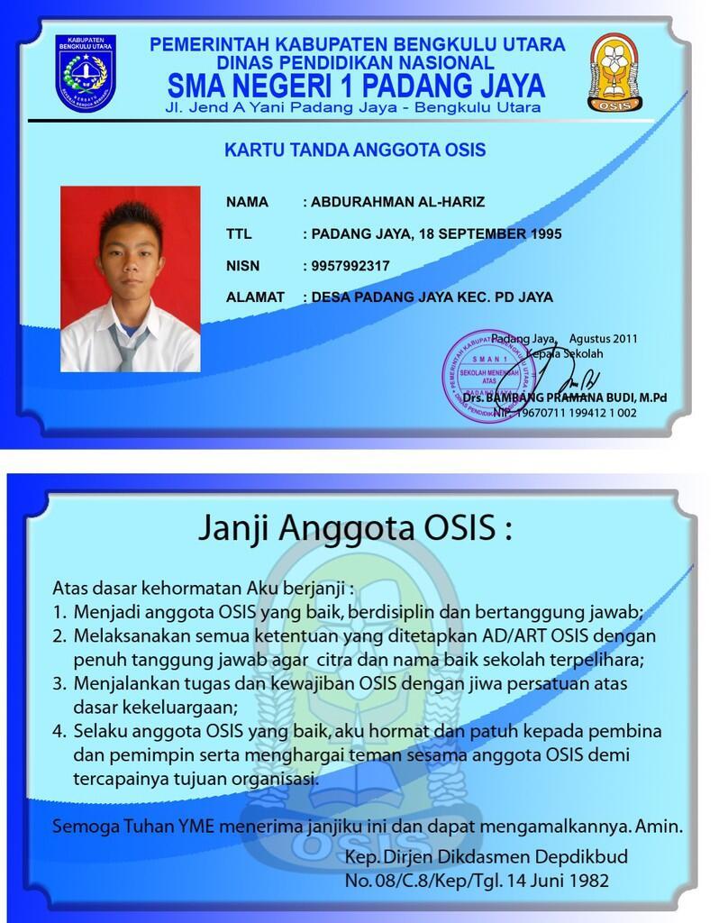 BIKIN ID CARD UNTUK PERUSAHAAN HUBUNGI 083 838 710 859 / 30D3B0C1
