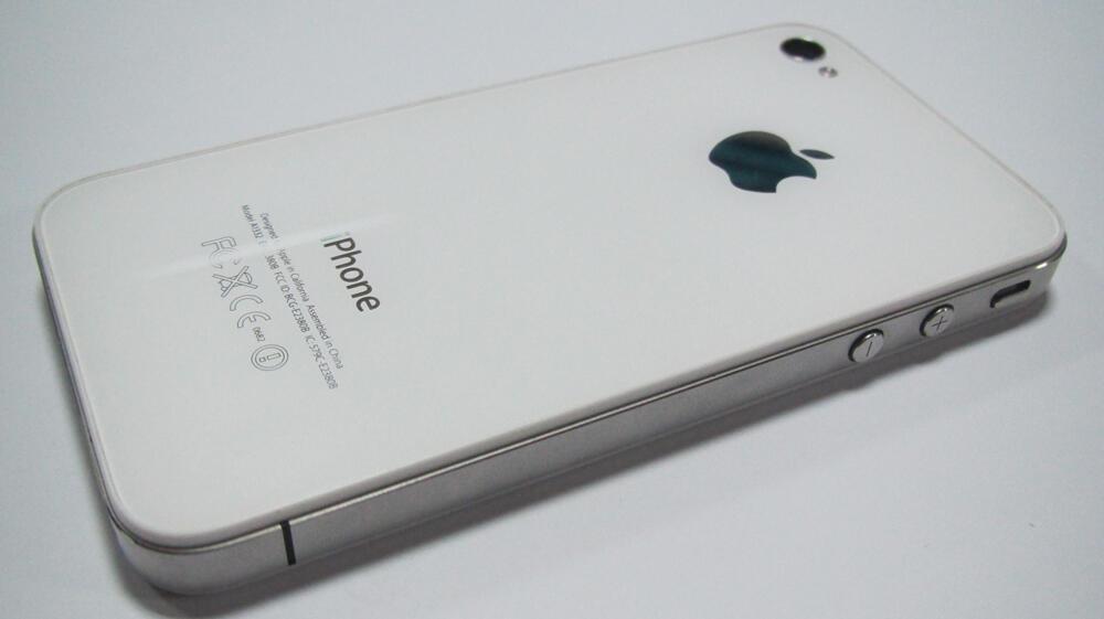 Iphone 4G 8GB White Bandung LIKE NEW GARANSI TRIO PANJANG + ASURANSI 6 bln