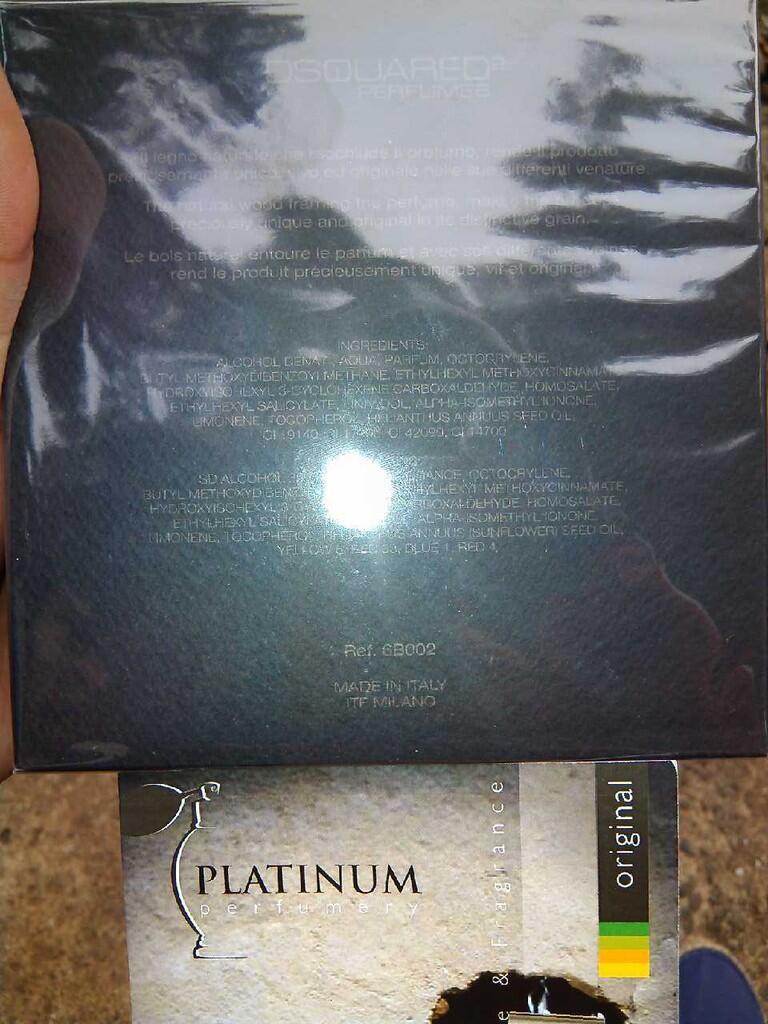 Parfum Original Dsquared He Wood Rocky Mountain Wood for Men