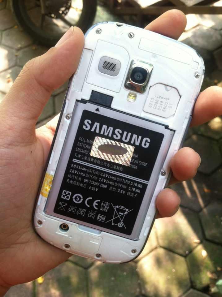 WTS: Samsung S3 Mini White 1,35jt aja nett BU bgt gan!