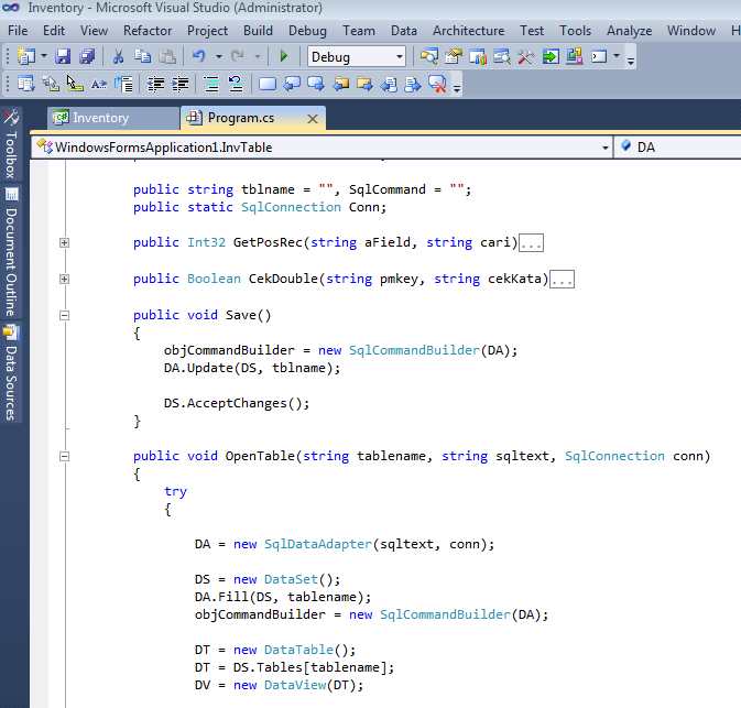 Soruce Code Program Aplikasi Point of Sales Database C# .NET