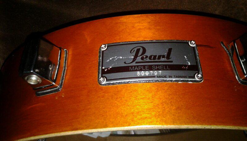 Snare Piccolo Pearl Maple Shell 13x3