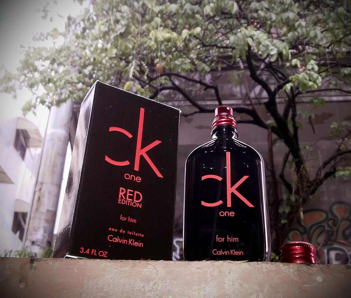 Parfum Original Calvin Klein One Red for Him